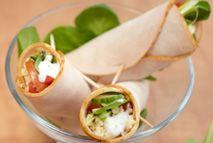 Turkey wraps – Recipes – Slimming World