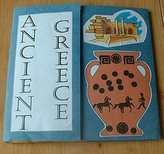 Ancient Greece Lapbook  cycle 1