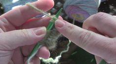 Twice Knit Knitting ~ illustrated knitting of Twice Knit knitting