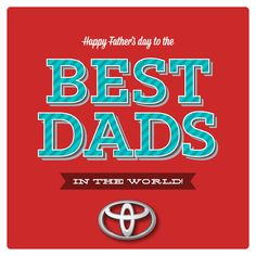 Happy Father's Day from our family at Lipton Toyota!  #HappyFathersDay #LiptonToyota To check out our special Father's Day blog post, go to: http://liptontoyota.blogspot.com/2015/06/lipton-toyota-wishes-all-dads-happy.html or click on the image.