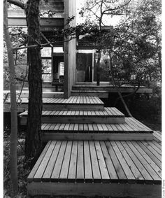 Courtesy of Fire Island Modernist: Horace Gifford and the Architecture of Seduction.The Most Stunning Beach Houses NYC Has Ever Known Architecture Details, Landscape Architecture, Landscape Design, Sustainable Architecture, Residential Architecture, Fire Island Pines, Pergola, Historic Homes, Building A House