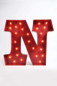 Marquee Alphabet Light - Clear  #UrbanOutfitters