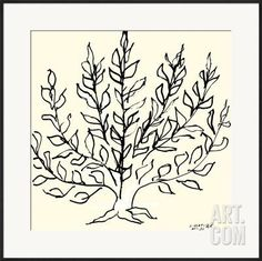 Le Buisson Framed Art Print by Henri Matisse at Art.com