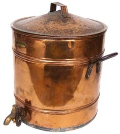 Buy Antique Copper Urn/Water Container with Lockable Brass Tap - Holden & Co Port Elizabethfor R745.00