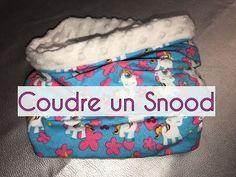 Coudre un Snood Doublé sans couture apparente - DIY - YouTube