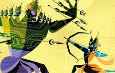 Illustrations from Pixar Animator Sanjay Patel