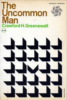 The Uncommon Man. designed by Rudolph de Harak //Swiss