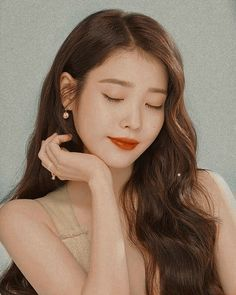 Korean Actresses, Korean Actors, Iu Twitter, Icons Girls, Iu Fashion, Korean Celebrities, Korean Beauty, Pretty People, Kpop Girls