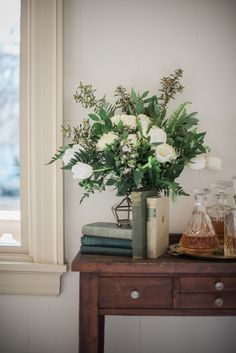 Greenery Vintage Wedding Decor