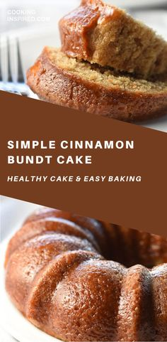Simple Cinnamon Cake is light and wonderful. Perfect for the cinnamon lover on a Sunday brunch or Easter! Simple Cinnamon Cake is light and wonderful. Perfect for the cinnamon lover on a Sunday brunch or Easter! Healthy Cake Recipes, Best Dessert Recipes, Brunch Recipes, Fun Desserts, Baking Recipes, Baking Desserts, Cake Baking, Cinnamon Desserts, Easter Recipes