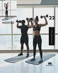 Workout Videos For Men, Hiit Workout Videos, Full Body Hiit Workout, Hiit Workout At Home, Gym Workout Tips, Dumbbell Workout, Workout For Beginners, At Home Workouts, Pilates Workout