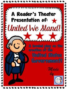 Students will bring the United States Constitution to life in this whole class reader's theater based on 4th grade Ohio Social Studies standards!  This original play contains 22 parts featuring 3 reading levels to ensure whole class participation, fluency development, and differentiation. https://www.teacherspayteachers.com/Product/Readers-Theater-The-Constitution-United-We-Stand-leveled-script-3059082