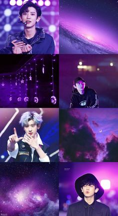 Pink Chanyeollie Collage on We Heart It
