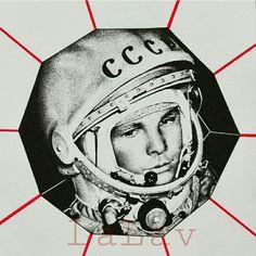 Gagarin Portrait