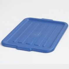 Carlisle Food Service Products Universal Tote Box Lid (Set of 12) Color: Blue