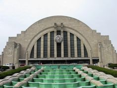 #Cincinnati Union Terminal! Can you believe how many trains used to run through the city?