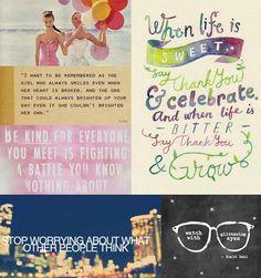 Matilda Jane Clothing Blog. Love these quotes