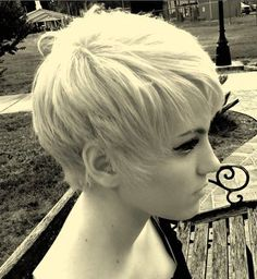 every time I think I'm over wanting a platinum pixie I'm actually not
