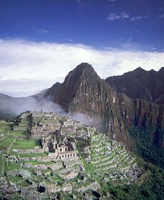 The ruins of Machu Picchu, rediscovered in 1911 by Yale archaeologist Hiram Bingham, are one of the most beautiful and enigmatic ancient sites in the world. While the Inca people certainly used the Andean mountain top (9060 feet elevation), erecting many hundreds of stone structures from the early 1400's, legends and myths indicate that Machu Picchu (meaning 'Old Peak' in the Quechua language)