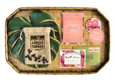 Tropical wedding stationery suite