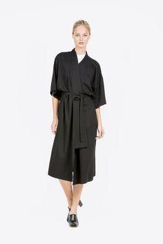 Robe Dress By Shaina Mote Kick Pleat