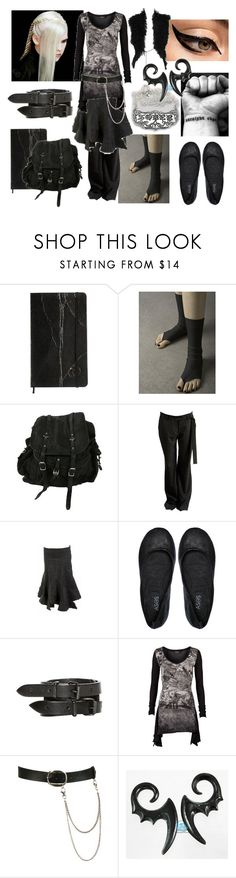 """""""Meus Delectus - Scholastic Reversion"""" by lylia ❤ liked on Polyvore featuring AllSaints, Zero + Maria Cornejo, Nicole, Femme Metale, Wet Seal and Thomas Wylde"""