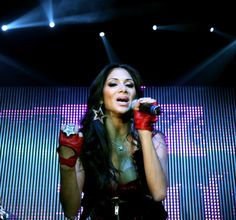 Nicole Scherzinger Photos: Pussycat Dolls perform at Ford Live!