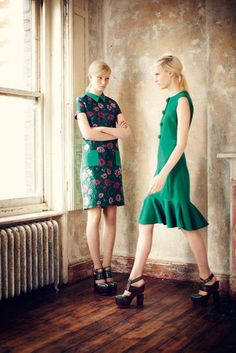 Pre-Fall 2013  Photos courtesy of Erdem
