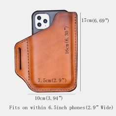 Cow Leather, Leather Craft, Leather Fashion, Mens Fashion, Fashion Outfits, Phone Holster, Leather Phone Case, Wallet Pattern, Casual Bags