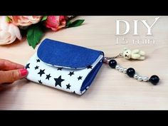 Fast making diy pouch bag by own hands from scratch. Hope you like this diy tutorial and now you can make it from scratch by own hands. Diy Mini Wallet, Diy Pouch Bag, Purse Wallet, Diy Pouches, Custom Tote Bags, Tote Bags Handmade, Handmade Purses, Diy Bags Purses, Cheap Purses