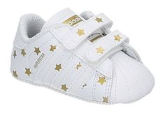 adidas superstar crib baby zwart