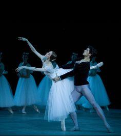 "Roberto Bolle ad Prince Albrecht in ""Giselle"" with Svetlana Zakharova, Bolshoi Theatre photo by Damir Yusupov"
