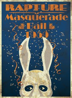 Bioshock / Rapture Masquerade Ball 1959 Poster