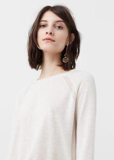 Fine-knit sweater | MANGO