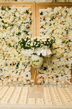 White and Gold Beverly Wilshire Wedding - International Event Company Flower Centerpieces, Wedding Centerpieces, Wedding Decorations, Luxury Wedding, Diy Wedding, Wedding Venues, Wedding Ideas, Table Cards, Card Tables