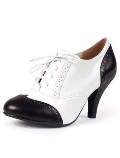 Dedo del pie redondo Color Block gatito zalea fabuloso tacón botas talón del tobillo para las mujeres - Milanoo.com