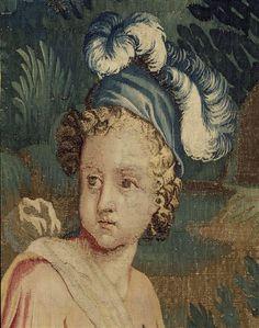 """""""Jeux d'enfants. Le jeu de quilles"""". Pau, musée national du château de Pau."""