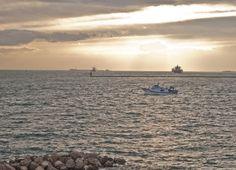 Tramonto su Mar Grande a Taranto. Alessandro Germano. www.alessandrogermano.eu