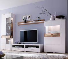 Tv Unit Furniture, System Furniture, Living Room Furniture, Modern Furniture, Furniture Design, Tv Stand Designs, Living Room Cabinets, Front Rooms, Window Design