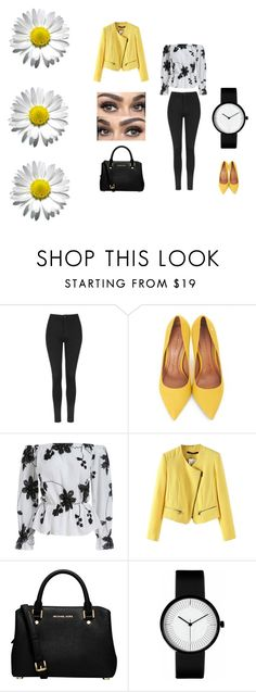 """""""XoXo"""" by joana25 on Polyvore featuring Topshop, Moda In Pelle and MICHAEL Michael Kors"""