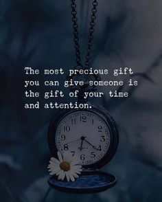 Best Positive Quotes : QUOTATION - Image : As the quote says - Description The most precious gift you can give to someone. Good Life Quotes, Inspiring Quotes About Life, Wisdom Quotes, True Quotes, Words Quotes, Sayings, Qoutes, Quotes Gate, Quotes Images