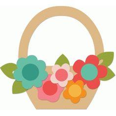 Silhouette Design Store: spring basket