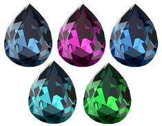 """Tear Drop Crystal Set Vectors done in via Illustrator. Created it as practice using tools in the software. It's also a """"Free to Use but Credit Back"""" Resource Vector Art, Vectors, Illustrator, Software, Drop, Tools, Crystals, Create, Artist"""