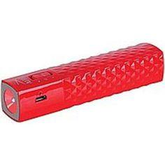 Altec Lansing AL-PWR-ST-RED 2600 mAh Universal Power Stick - Red