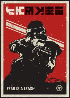 KillZone, Helghast Poster Illustration
