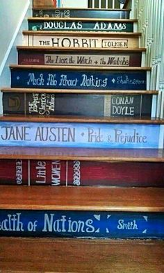 Not a book, but something I would definitely do in my own home.