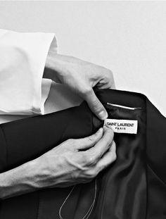 Tailoring - fashion in the making; fashion atelier; fashion studio // Saint Laurent