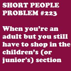 Def not kids lol! Short People Humor, Short People Problems, Short Girl Problems, Short Jokes, Me Quotes, Funny Quotes, Short Person, Def Not, Fun Size