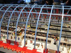 London's St Pancras station in Lego (4) Maker Faire 2014, Centre For Life, Newcastle #makerfaireuk