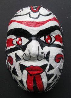 Chinese opera masks--plaster